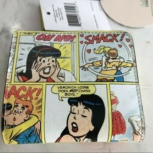 Kate spade Archie comic riverdale wallet L-zip